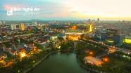 Khung cảnh tuyệt đẹp từ trên cao của 10 địa phương đồng bằng và miền biển Nghệ An