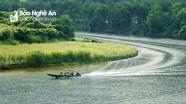 Khám phá sông Giăng vào Hạ tấp nập khách du lịch