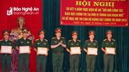 Bộ CHQS tỉnh trao giải Hội thi cán bộ chính trị giảng dạy giỏi năm 2018