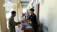 352 người dân vùng biên giới được khám bệnh, cấp thuốc miễn phí