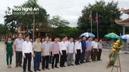 Ủy ban Kiểm tra Tỉnh ủy dâng hương tại Nghĩa trang liệt sỹ Việt - Lào