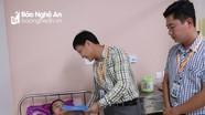 Thường trực Tỉnh đoàn thăm, tặng quà Đại úy Nguyễn Đình Tài