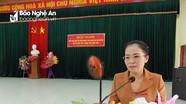 Phó Ban Tổ chức Tỉnh ủy tiếp xúc cử tri tại Quỳ Hợp