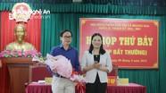 Bầu Chủ tịch HĐND thị xã Hoàng Mai