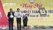 Phó Chủ tịch UBND tỉnh Huỳnh Thanh Điền dự Ngày hội Đại đoàn kết tại Quỳ Hợp