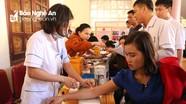 Gần 650 tình nguyện viên Kỳ Sơn tham gia hiến máu