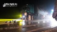 Nghệ An: Tai nạn liên hoàn nghiêm trọng trên Quốc lộ 48