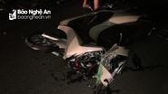 Hai xe máy đâm nhau trong đêm, 3 người bị thương nặng