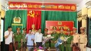 Huyện Quỳ Châu thưởng nóng Ban chuyên án triệt phá đường dây ma túy xuyên Việt
