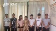 Phát hiện nhóm nam nữ thanh niên mở 'tiệc' ma túy tại quán Karaoke Zing Cửa Lò