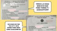 Khắc phục bất cập trong cấp bản sao giấy khai sinh