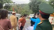 Huyện biên giới xa nhất Nghệ An lập chốt phòng chống Covid