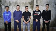 Công an TP Vinh tạm giữ nhóm thanh niên sử dụng vũ khí nóng giải quyết mâu thuẫn cá nhân