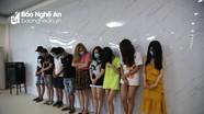 Nghệ An: Bắt giữ nhóm thanh niên tổ chức sử dụng ma túy ở khu nghỉ dưỡng