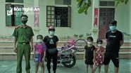 3 bé gái lạc đường khi đạp xe từ Diễn Châu sang Yên Thành chơi