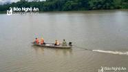 Tìm thấy thi thể người đàn ông mất tích trên sông Lam khi đi thăm con trai