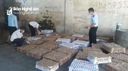 Phát hiện hàng nghìn con gia cầm không kiểm dịch trên xe tải từ Hà Nội về Nghệ An