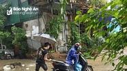 Nhiều xe cộ sập 'bẫy' hố gas thi công dang dở ở TP Vinh