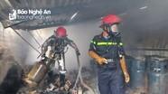 Cháy cửa hàng kinh doanh gas