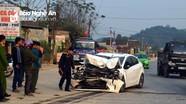 Xe con đâm vào xe đầu kéo, một người tử vong
