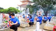Tỉnh đoàn Nghệ An dâng hương tưởng niệm các anh hùng liệt sỹ