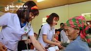 Bệnh viện Đa khoa thành phố Vinh: Hành trình mang 'Tết ấm' về miền biên cương