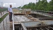 Nghệ An hủy bỏ quy định tăng giá nước thô trong sản xuất nước sạch