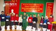 Trao quà tết cho người dân các địa phương Quế Phong, Nghĩa Đàn, Con Cuông và Tân Kỳ
