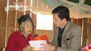 Trao quà Tết cho người nghèo tại Con Cuông và Tân Kỳ
