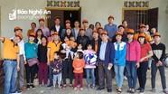 Trao 83 triệu đồng giúp nạn nhân bị bỏng ở Yên Thành