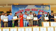 Trao 125 tủ sách cho 8 trường tiểu học ở Nam Đàn
