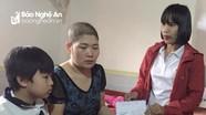 Trao hỗ trợ cho học sinh khó khăn ở TX.Thái Hòa và Tân Kỳ
