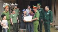 Trao quà cho các gia đình khó khăn ở Kỳ Sơn, Quế Phong và Tân Kỳ