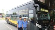 Thạch Thành đưa vào khai thác dòng xe 'chuyên cơ mặt đất' tuyến Vinh - Hà Nội và ngược lại