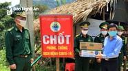 Phó trưởng Ban Tuyên giáo Tỉnh ủy kiểm tra việc phòng chống dịch Covid-19 tại Tương Dương