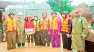 Hội Chữ thập đỏ tỉnh  cứu trợ khẩn cấp hàng hóa, nhu yếu phẩm cho người dân Thanh Chương, Hưng Nguyên