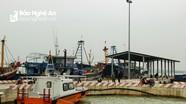 Nghệ An: Hơn 8.500 lượt tàu của ngư dân cập cảng cá