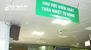MobiFone Nghệ An hỗ trợ lắp đặt hệ thống tự động đo thân nhiệt tại Bệnh viện Đa khoa TP Vinh