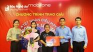 MobiFone tỉnh Nghệ An trao giải đặc biệt chương trình 'Chào Xuân Tân Sửu năm 2021'