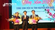 Nghệ An: Khen thưởng 38 lưu học sinh, sinh viên tình nguyện quốc tế