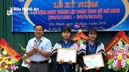 Học sinh Nghệ An trả lại của rơi được Giám đốc Sở Giáo dục gửi thư khen