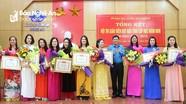 Danh sách 10 giáo viên mầm non xuất sắc nhất tỉnh Nghệ An