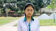 Nữ sinh duy nhất ở Nghệ An giành Huy chương Vàng Toán học đến từ trường huyện