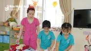Nghệ An: Học sinh các trường mầm non ngoài công lập được miễn, giảm học phí