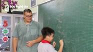 12 trường ở Nghệ An được phối hợp dạy Tiếng Anh với giáo viên nước ngoài