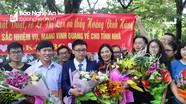 Hai giáo viên Nghệ An được tôn vinh Nhà giáo tiêu biểu toàn quốc năm 2018