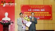 Nghệ An: Trao quyết định bổ nhiệm Phó Giám đốc Sở Giáo dục và Đào tạo
