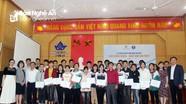 32 học sinh Nghệ An vượt qua vòng thi viết giành học bổng tại Nhật Bản