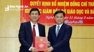 Phó hiệu trưởng Trường Đại học Vinh giữ chức Giám đốc Sở GD&ĐT Nghệ An