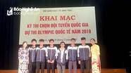 Nghệ An có 2 học sinh lọt vào đội tuyển Olympic Châu Á môn Tin học